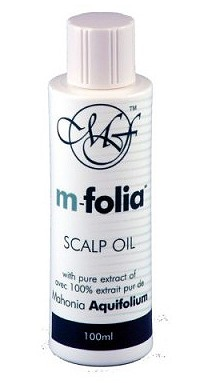 M-Folia Scalp Psoriasis Oil 100mls green and white bottle